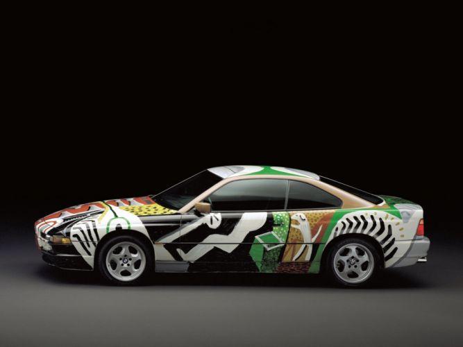 1995 BMW 850 CSi Art CDavid Hockney (E31) tuning r wallpaper
