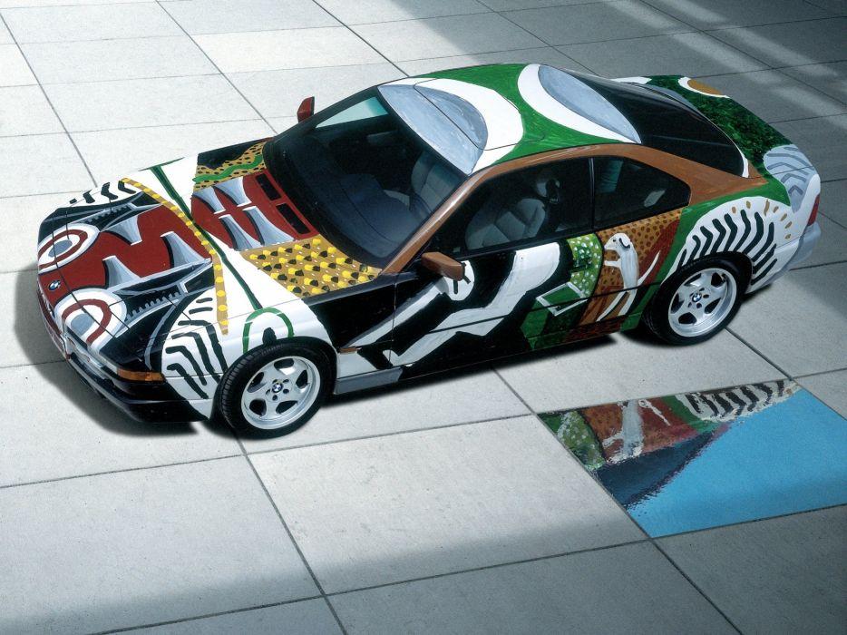 1995 BMW 850 CSi Art CDavid Hockney (E31) tuning   w wallpaper