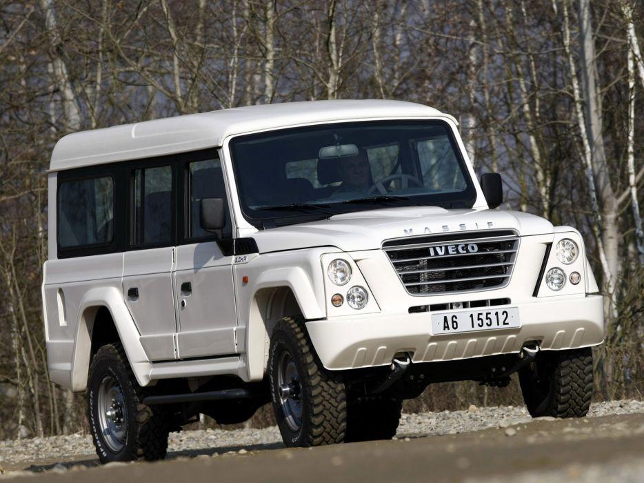 2007-11 Iveco Massif 5-door suv 4x4 awd fiat land rover defender   e wallpaper