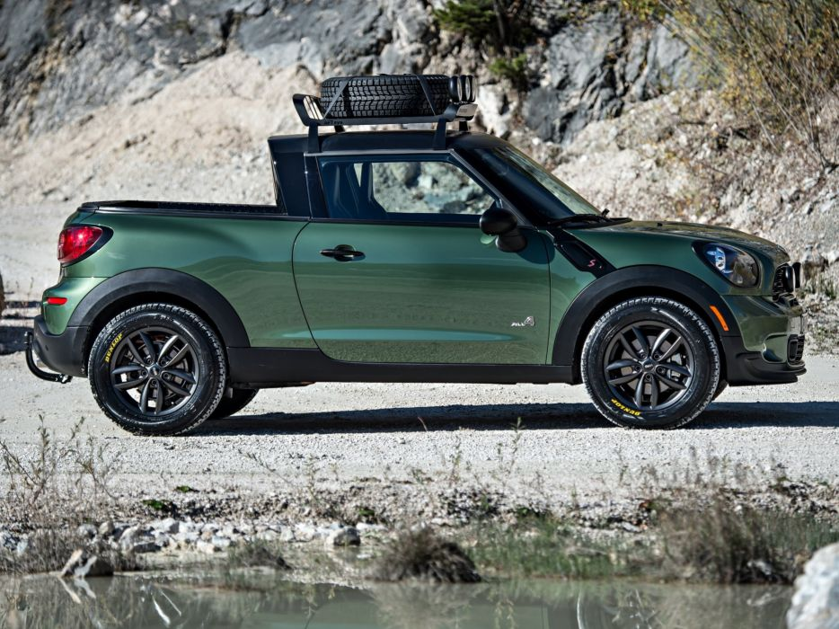 2014 MINI Paceman Adventure (R61) suv awd cooper pickup e wallpaper
