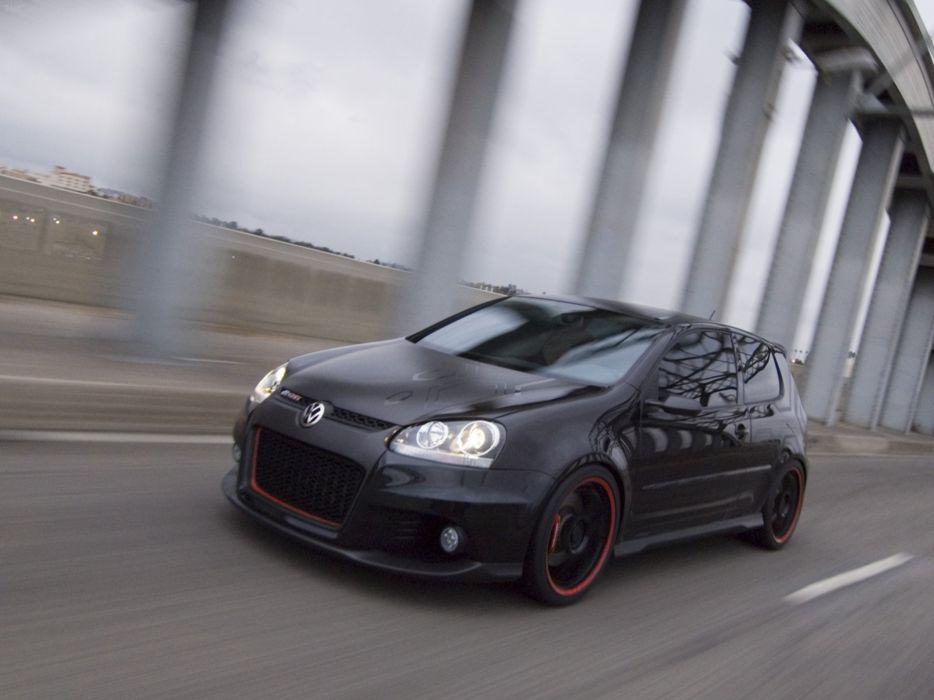 Volkswagen GTI-R Concept 2006 Golf car tunning black carbon wallpaper 4000x3000 wallpaper