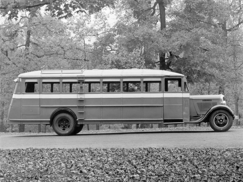 1934 Dodge Model-K-34 Bus Wayne (5261) transport semi tractor retro     g wallpaper