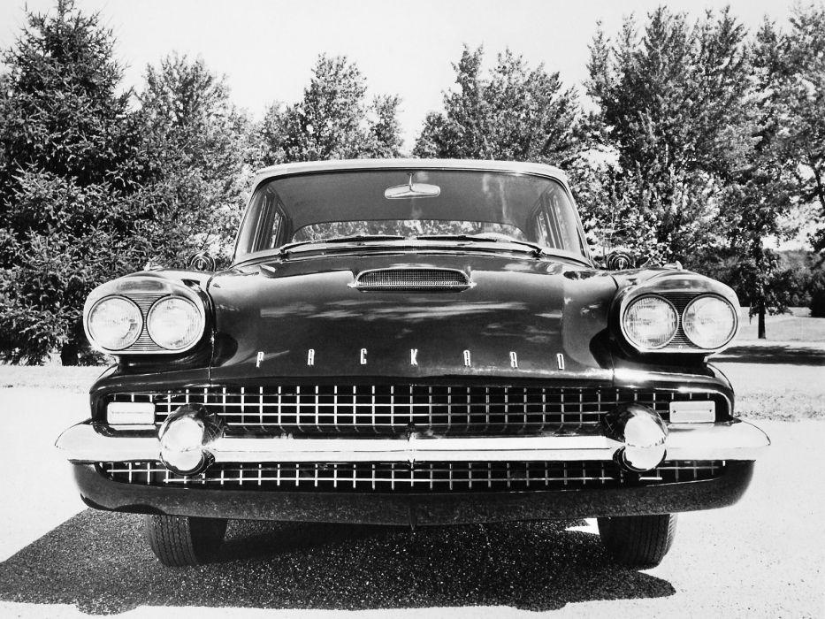 1958 Packard Sedan (58L-Y8) luxury retro   e wallpaper