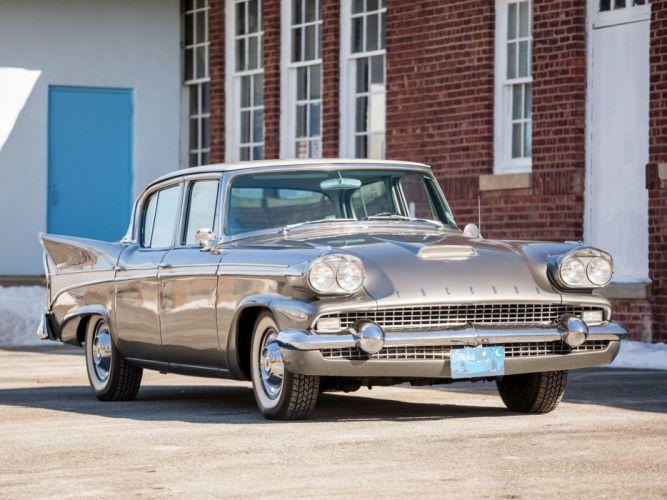 1958 Packard Sedan (58L-Y8) luxury retro r wallpaper