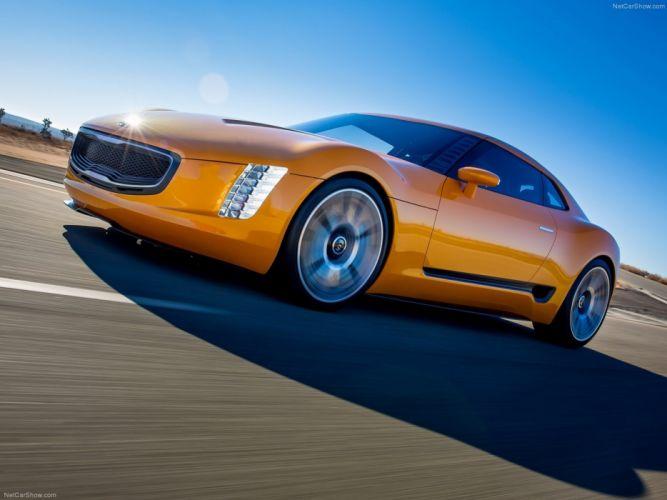 Kia GT4 Stinger Concept 2014 car future 4000x3000 wallpaper