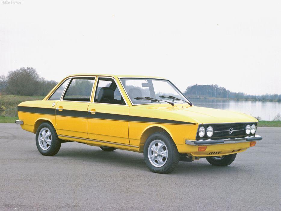 Volkswagen K70 1970 retro sedan 4000x3000 wallpaper