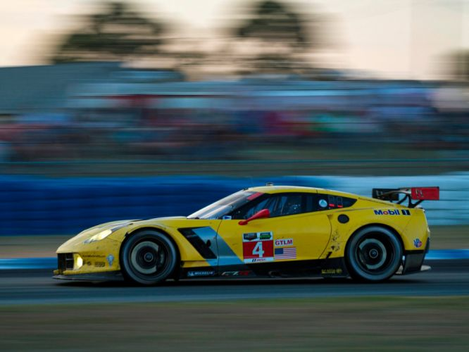 2014 Chevrolet Corvette C7R GT2 (DA-7) race racing supercar h wallpaper