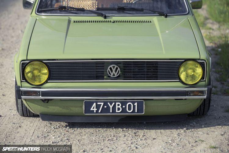volkswagem golf mk1 tunning car mark1 wallpaper