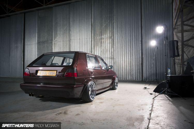 volkswagem golf mk2 tunning car mark2 wallpaper