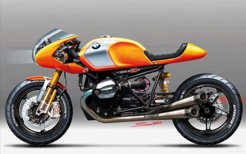 2013 bmw concept ninety motorcycle 4000x2500 wallpaper