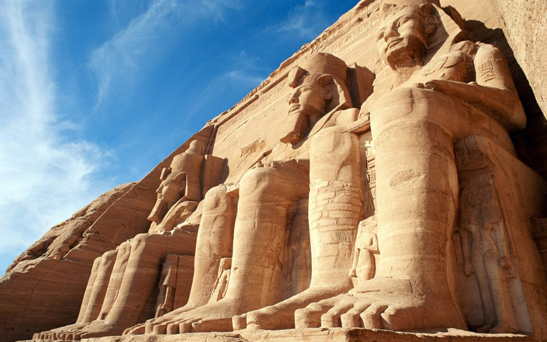 abu-simbel temples egypt ancient archeology 4000x2500 wallpaper