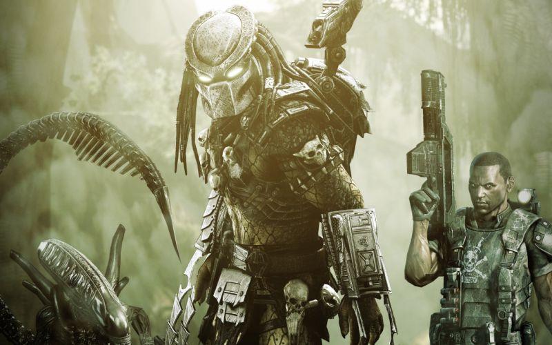 aliens-vs-predator game alien 4000x2500 wallpaper