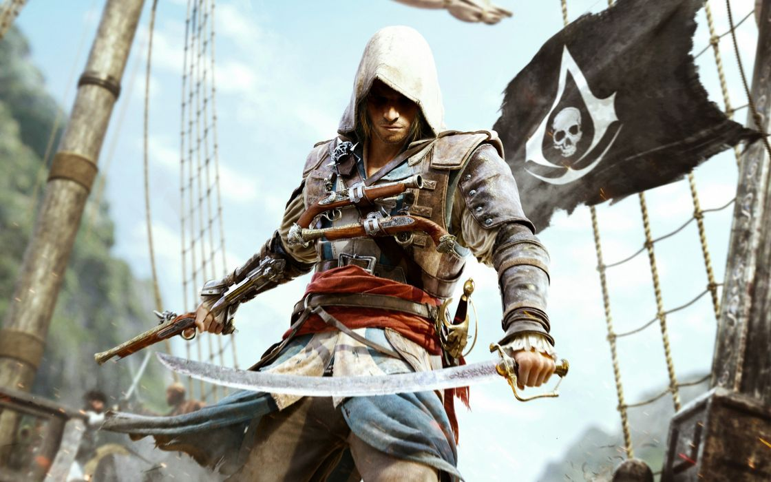 assassins-creed-4 black flag game 4000x2500 wallpaper