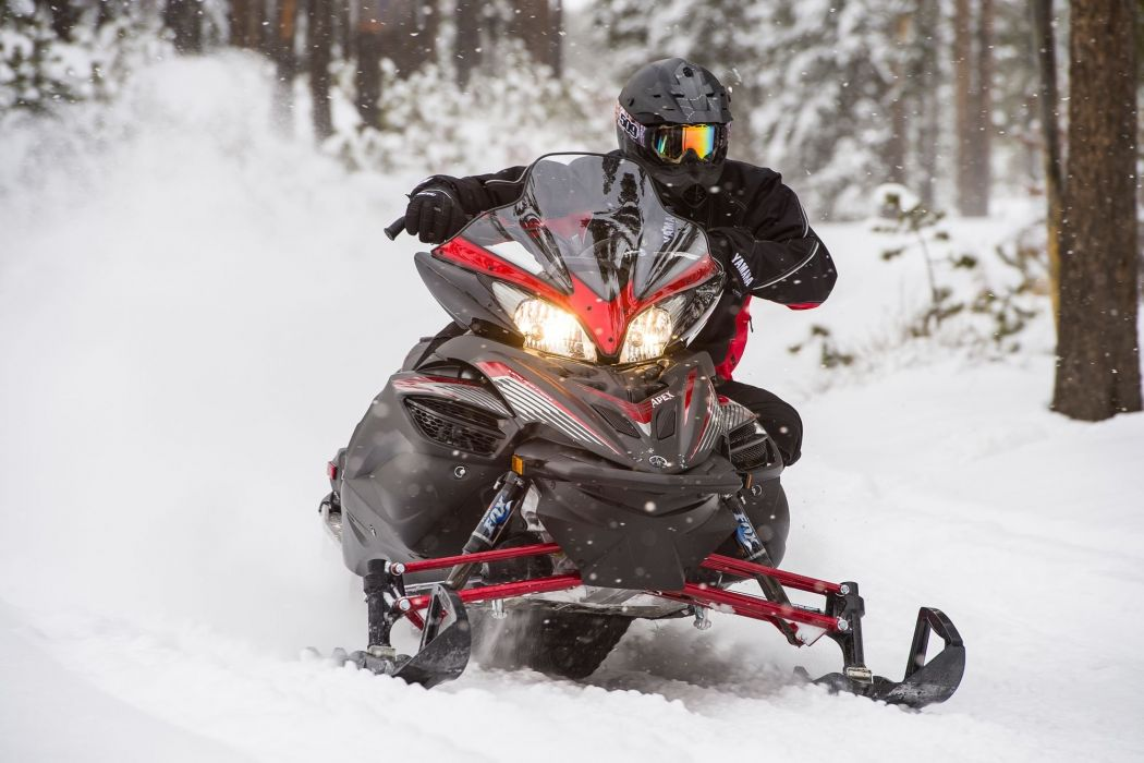YAMAHA APEX snowmobile sled atv (1) wallpaper