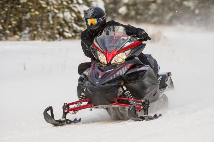 YAMAHA APEX snowmobile sled atv (3) wallpaper