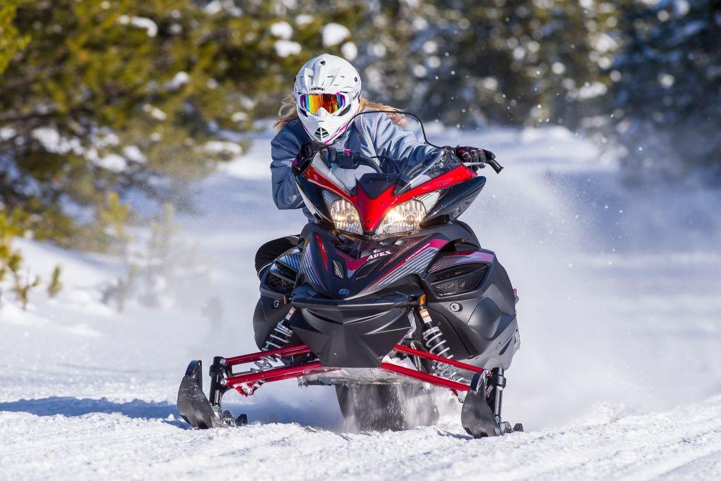 YAMAHA APEX snowmobile sled atv (17) wallpaper