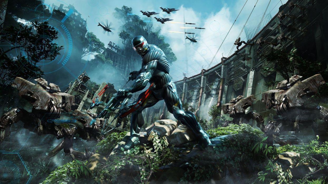 crysis-3 game future alien war 4000x2250 wallpaper