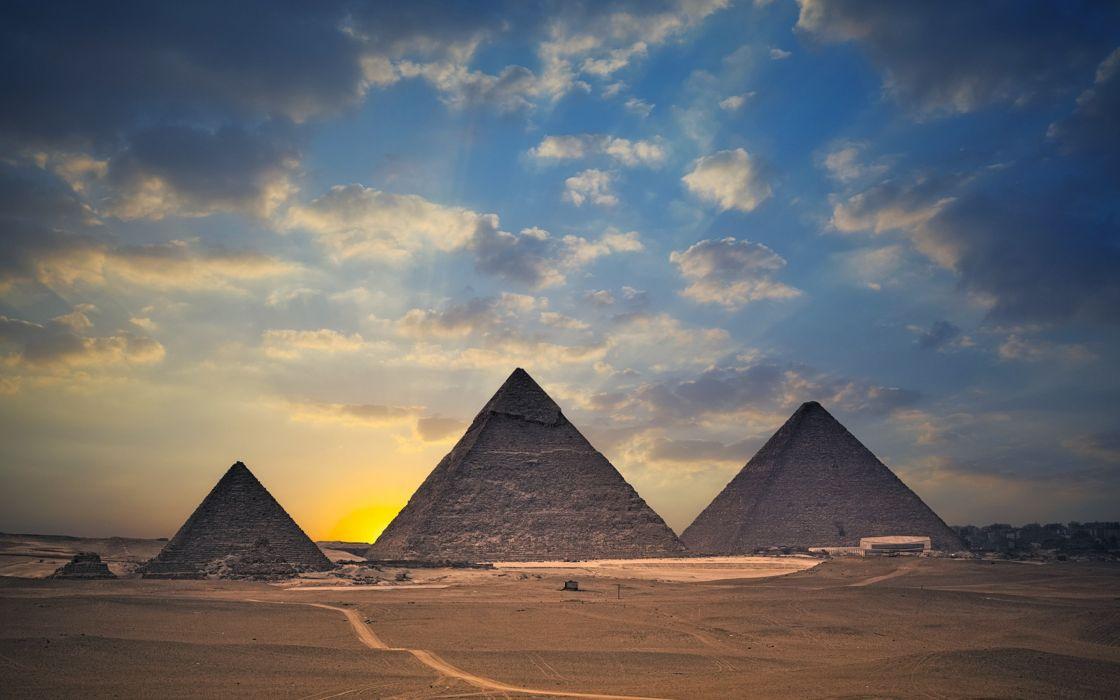 egypt pyramids monument4000x2500 wallpaper