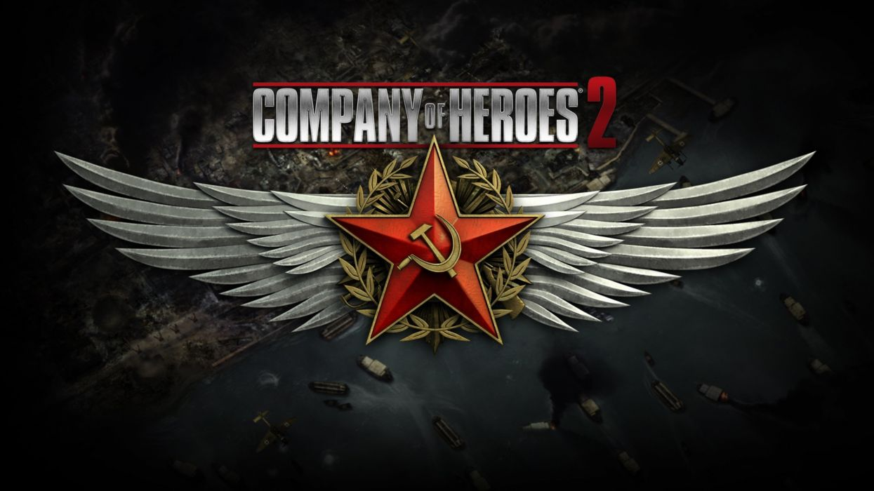 company-of-heroes-2 game red star 4000x2250 wallpaper