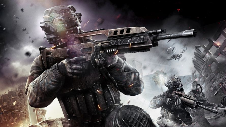 call-of-dutyb lack-ops-2 game rifle 4000x2250 wallpaper