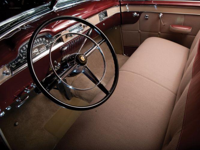 1949 Cadillac Fleetwood Sixty Special (6069X) luxury retro interior g wallpaper