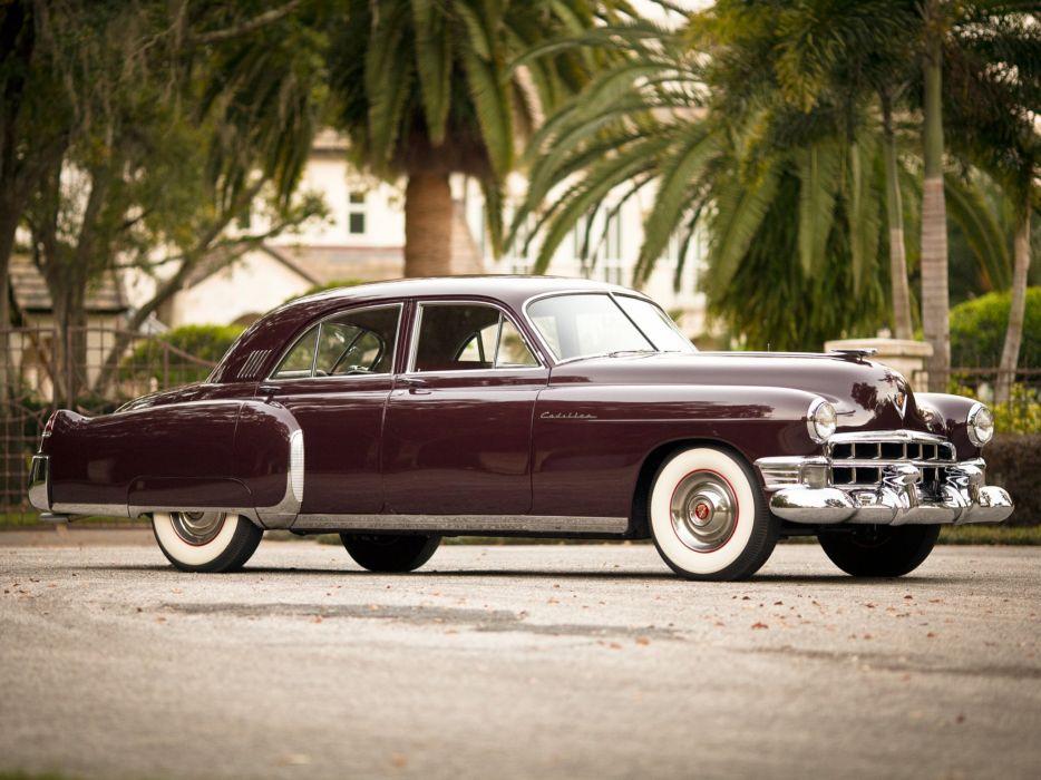 1949 Cadillac Fleetwood Sixty Special (6069X) luxury retro   t wallpaper