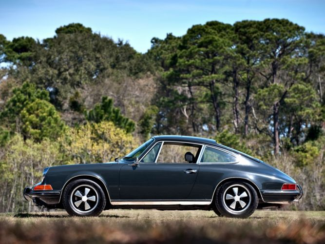 1970 Porsche 911 S Coupe US-spec (911) classic h wallpaper