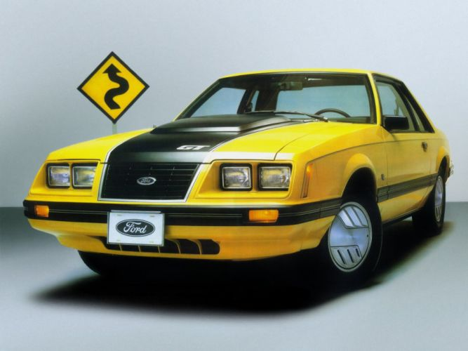 1982 Ford Mustang G-T muscle g wallpaper