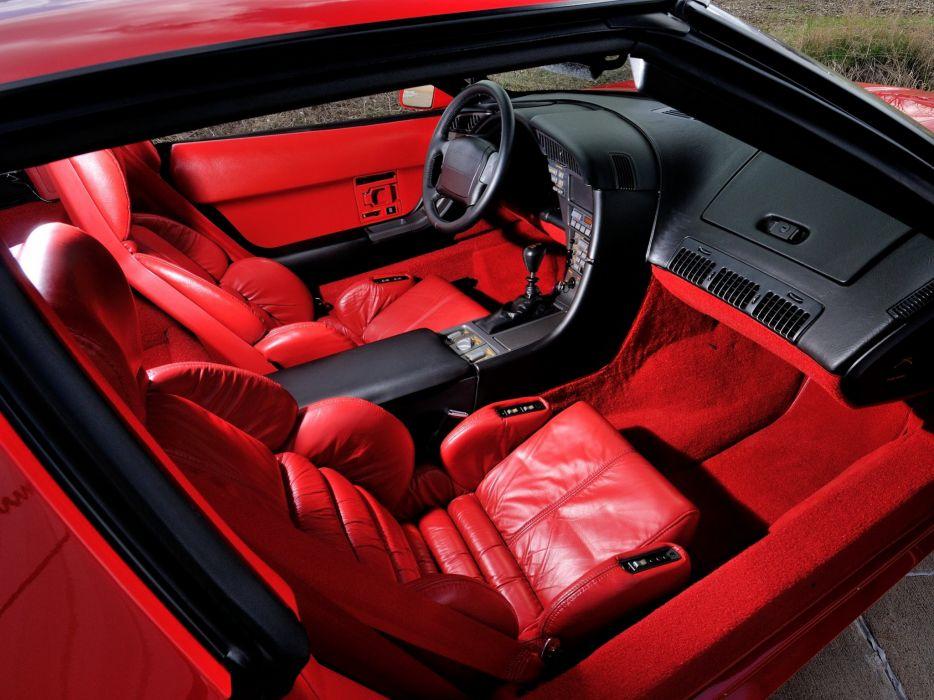 D E B Ca B on Chevrolet Corvette C4 Interior