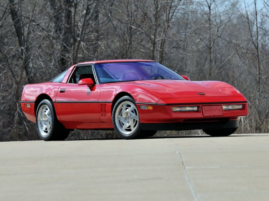1990 Chevrolet Corvette ZR1 Coupe supercar muscle   f wallpaper
