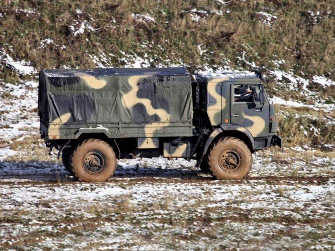 2006 KamAZ 43501 Mustang 4x4 military semi tractor h wallpaper