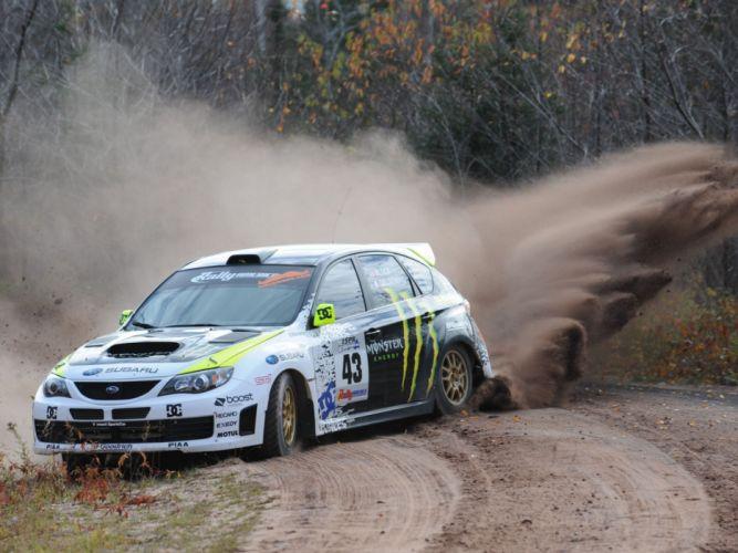 2009 Subaru Impreza WRX STi Race Car (GRB) race racing d wallpaper