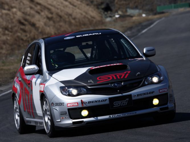 2009 Subaru Impreza WRX STi Race Car (GRB) race racing e wallpaper