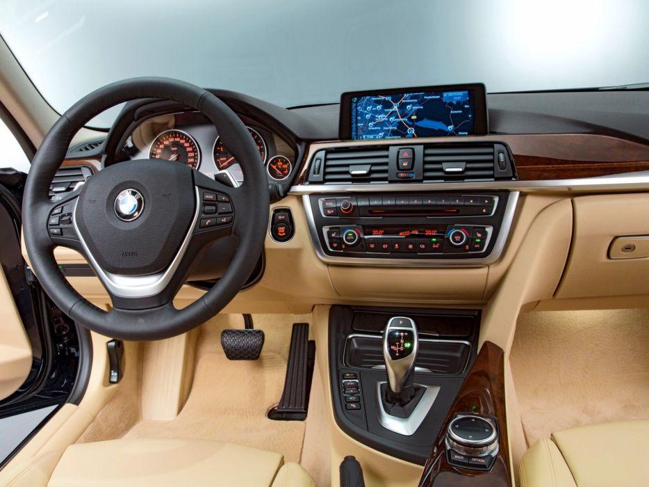 2012 Bmw 320i Sedan Luxury Line F30 Interior H Wallpaper