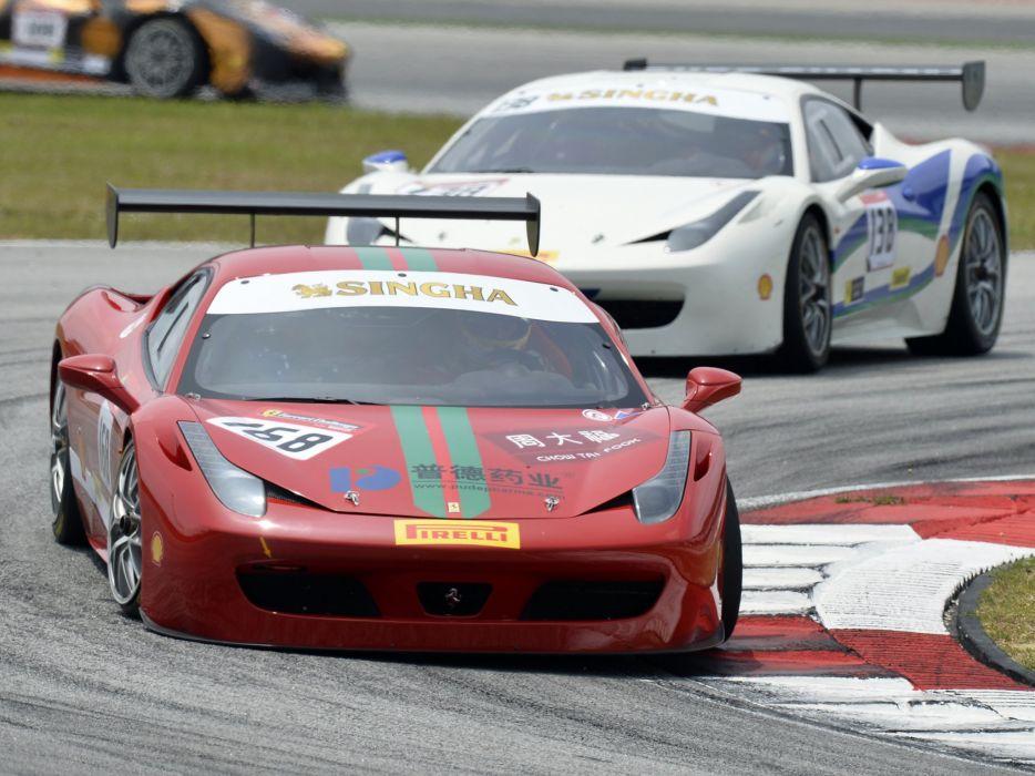 2014 Ferrari 458 Challenge Evoluzione GTC race racing g-t supercar r wallpaper