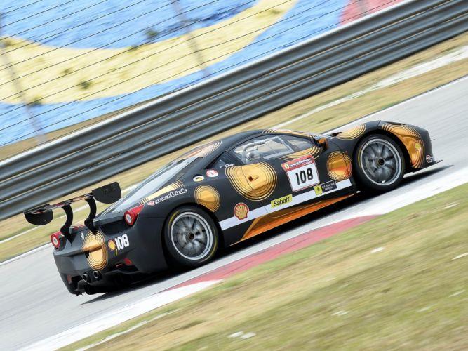 2014 Ferrari 458 Challenge Evoluzione GTC race racing g-t supercar rd wallpaper