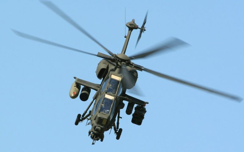 A-129 helicopter aircraft military (22) wallpaper