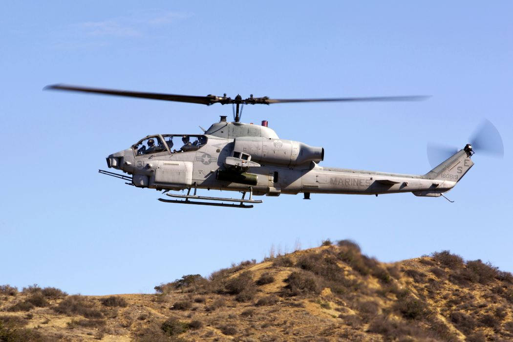 AH-1Z helicopter military aircraft (7) wallpaper