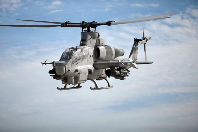 AH-1Z helicopter military aircraft (10) wallpaper
