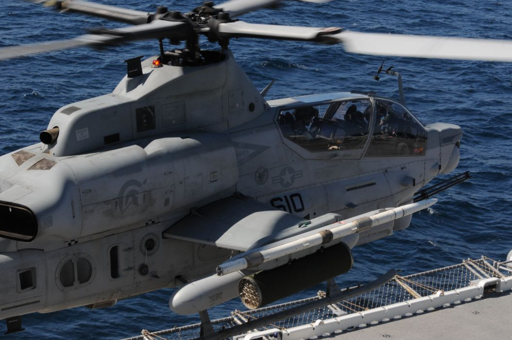 AH-1Z helicopter military aircraft (12) wallpaper