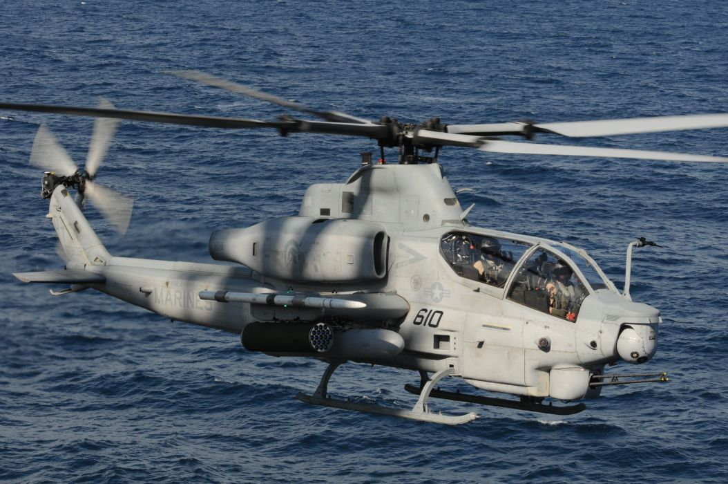 AH-1Z helicopter military aircraft (13) wallpaper