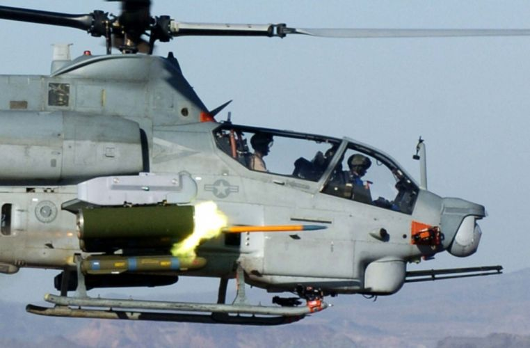 AH-1Z helicopter military aircraft (25) wallpaper