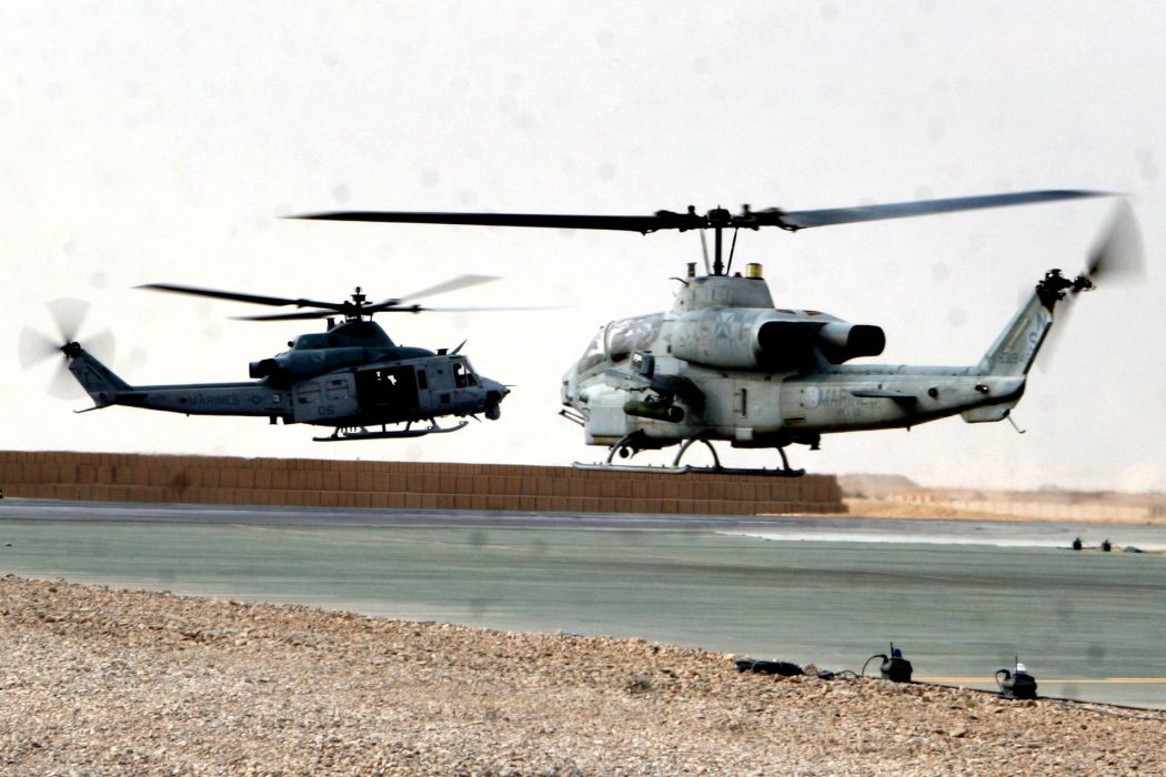AH-1Z helicopter military aircraft (29) wallpaper