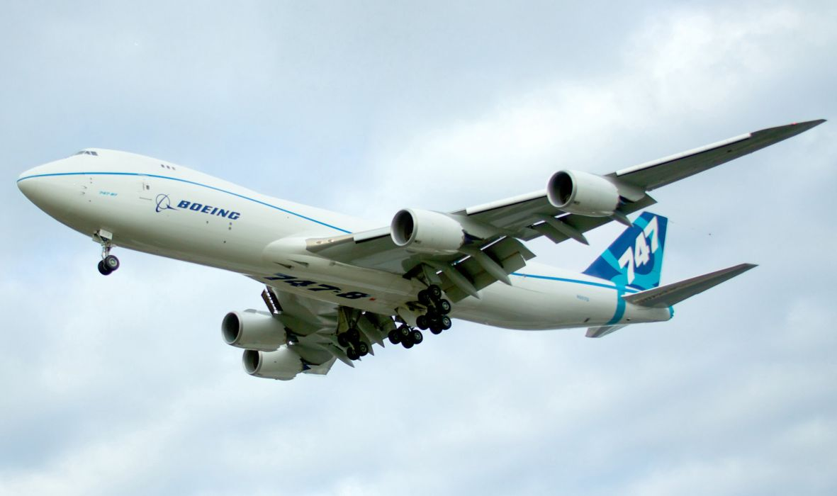 BOEING 747 airliner aircraft plane airplane boeing-747 transport (6) wallpaper