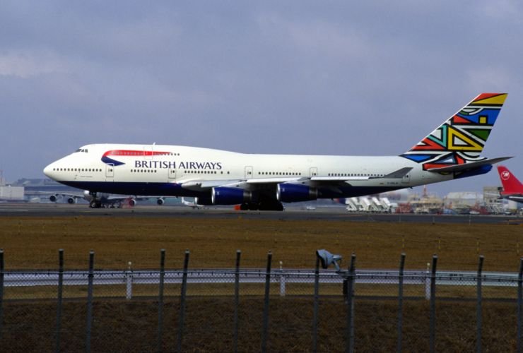 BOEING 747 airliner aircraft plane airplane boeing-747 transport (16) wallpaper