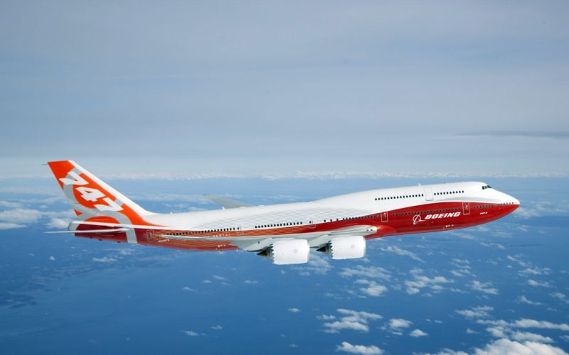 BOEING 747 airliner aircraft plane airplane boeing-747 transport (31) wallpaper