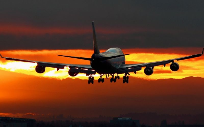 BOEING 747 airliner aircraft plane airplane boeing-747 transport (30) wallpaper