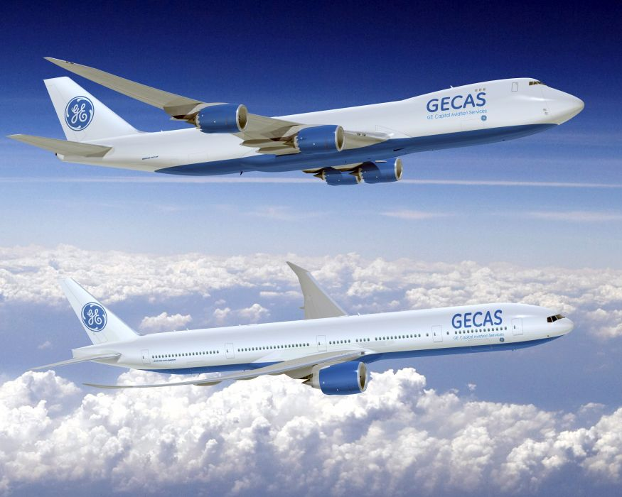 BOEING 747 airliner aircraft plane airplane boeing-747 transport (21) wallpaper