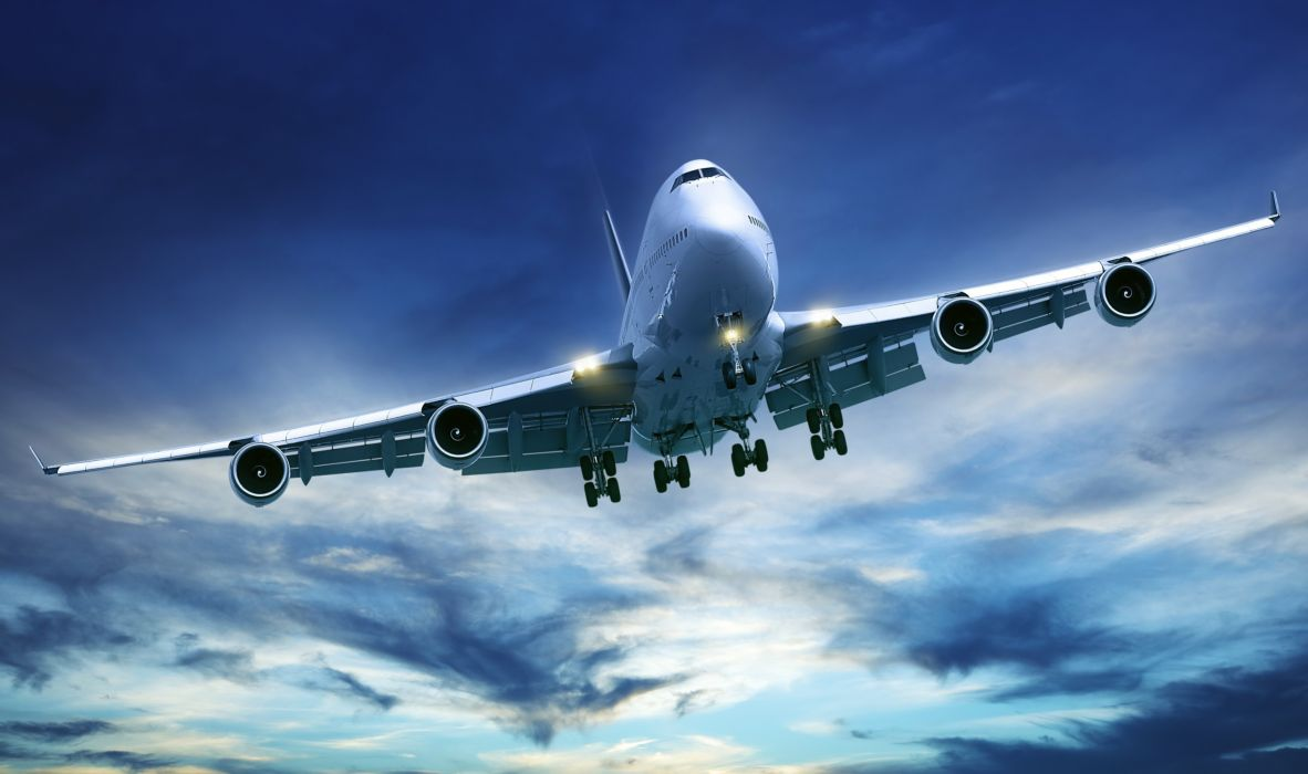 BOEING 747 airliner aircraft plane airplane boeing-747 transport (36) wallpaper
