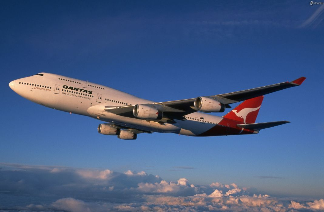 BOEING 747 airliner aircraft plane airplane boeing-747 transport  g wallpaper